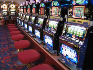 Slot machines are now video games with outcomes determined by casino banner