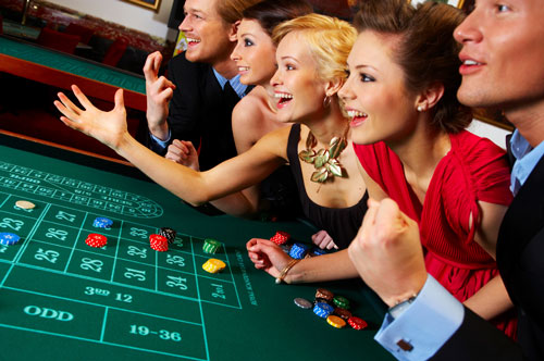 Play in a casino games casino slot