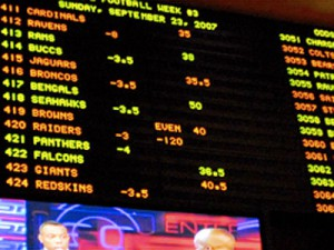 sports book result