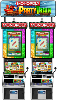 play monopoly party train slots