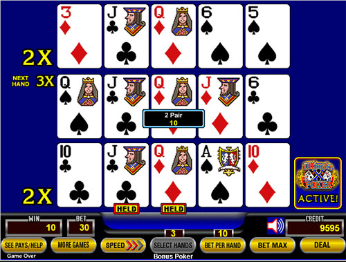 poker 2 pair vs 3 of a kind in cribbage are aces