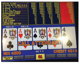 Video poker texas hold'em 2018